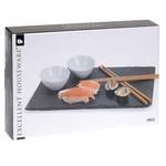 Relaxwonen Relaxwonen - Sushi Set - Sushi - Stokjes - Schaaltjes - Plateau - Lekker Eten - 7-Delig - 2 Personen