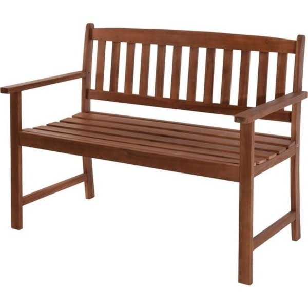 Relaxwonen - tuinbank - acacia hout - extra stevig - uniek - trend 2021 - 110X65X86 CM