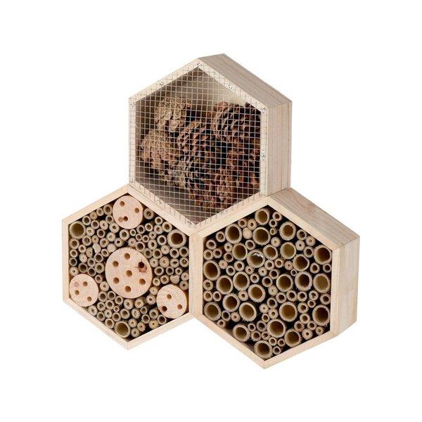 Relaxwonen - insectenhotel - uniek model - hexagon