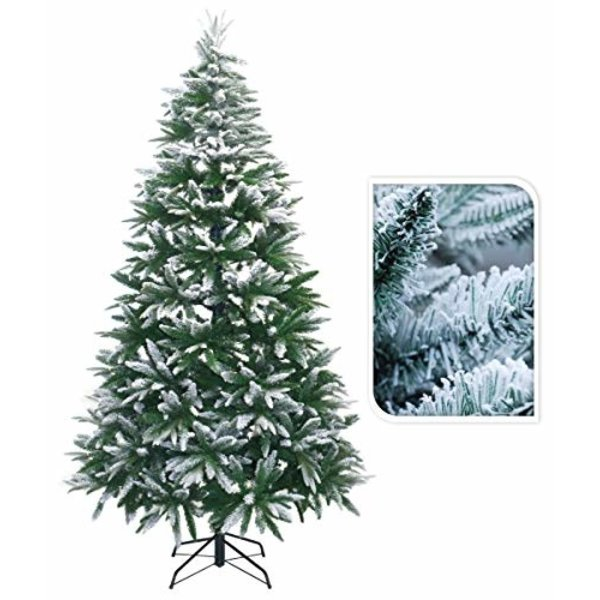 Relaxwonen Relaxwonen - Kerstboom - Kunstboom - Kunstkerstboom - Imitatie Sneeuw - Metalen Standaard - 180 cm Hoog