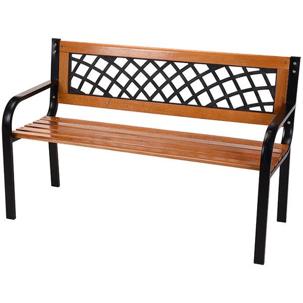 Relaxwonen Relaxwonen - tuinbank -  FSC hout - metalen frame - Trend 2021