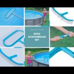 /intex Intex - schoonmaak set - Bezem & schepnet - inclusief steel - Compleet geleverd