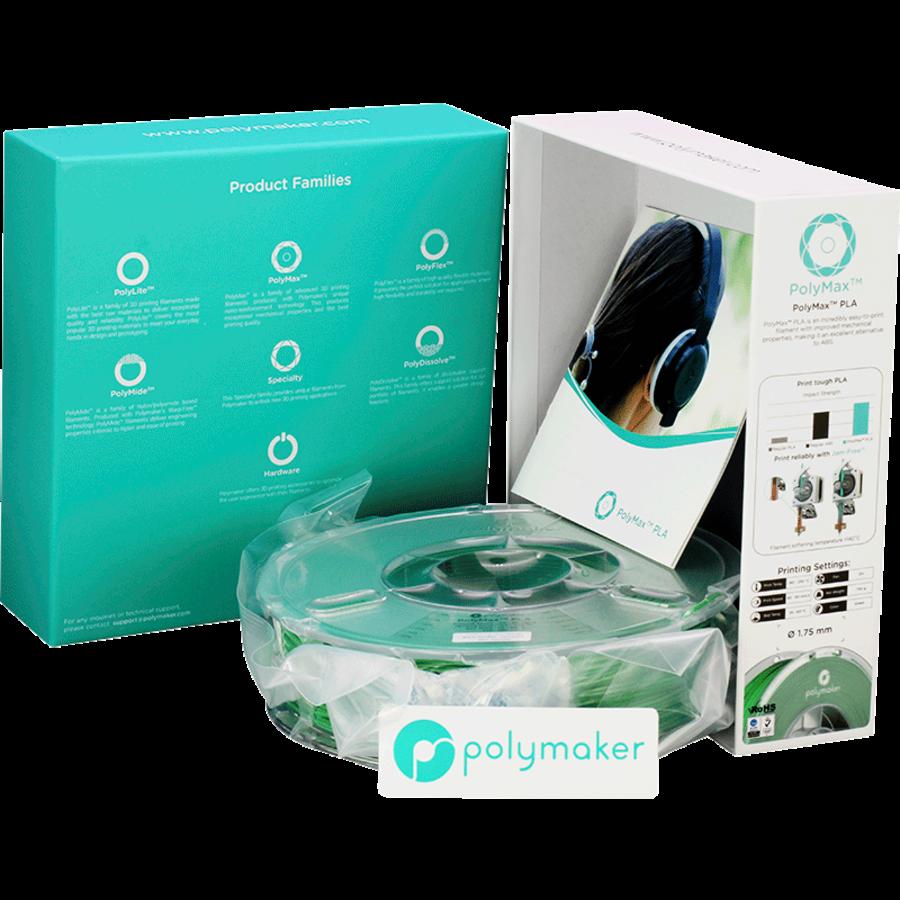 Polymaker PolyMax PLA - Groen-10