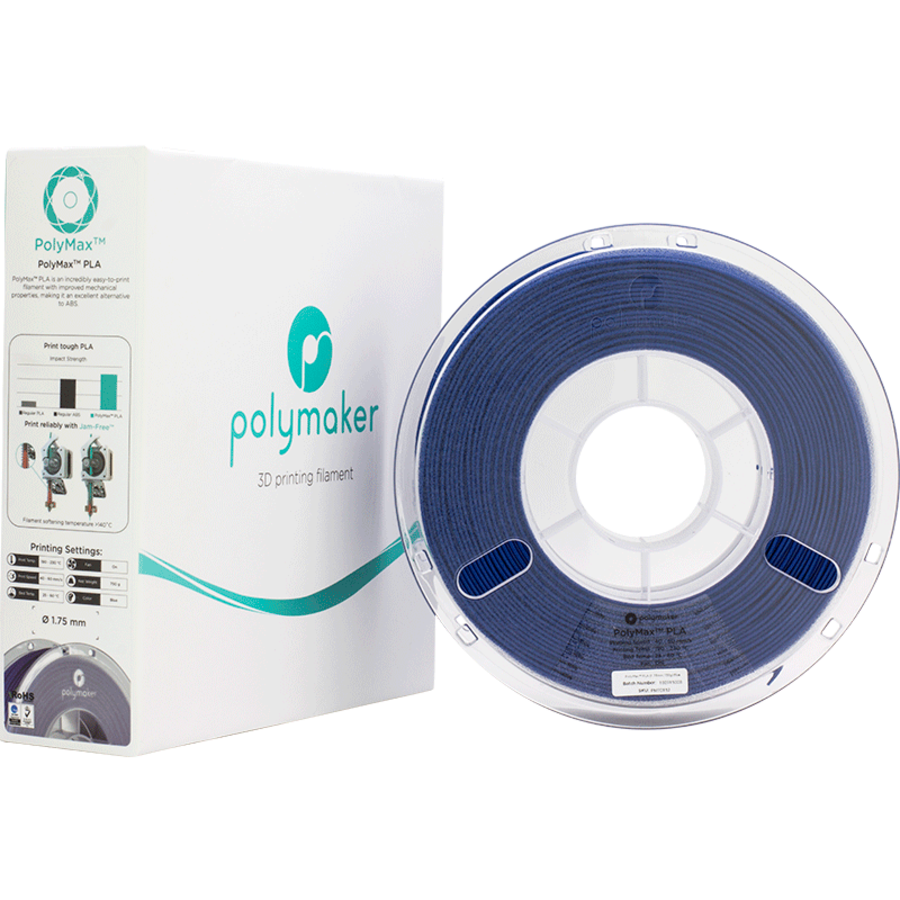 Polymaker PolyMax PLA - Blauw-4
