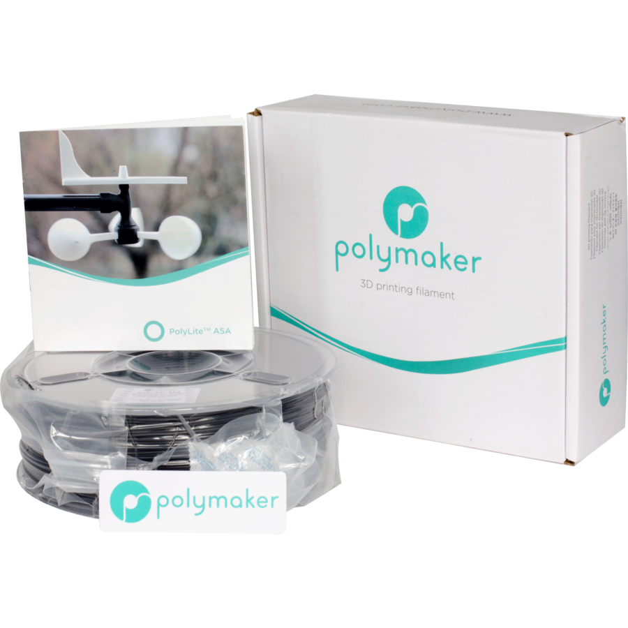 Polymaker PolyLite ASA - Zwart-4