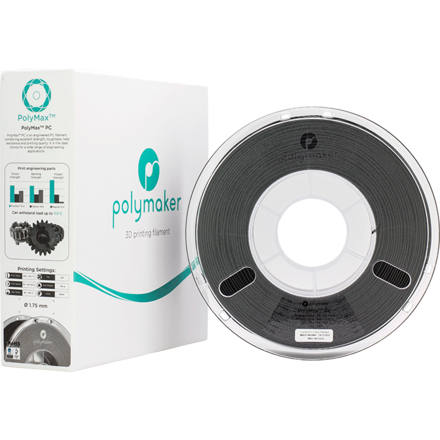 Polymaker PolyMax PC - Zwart-5