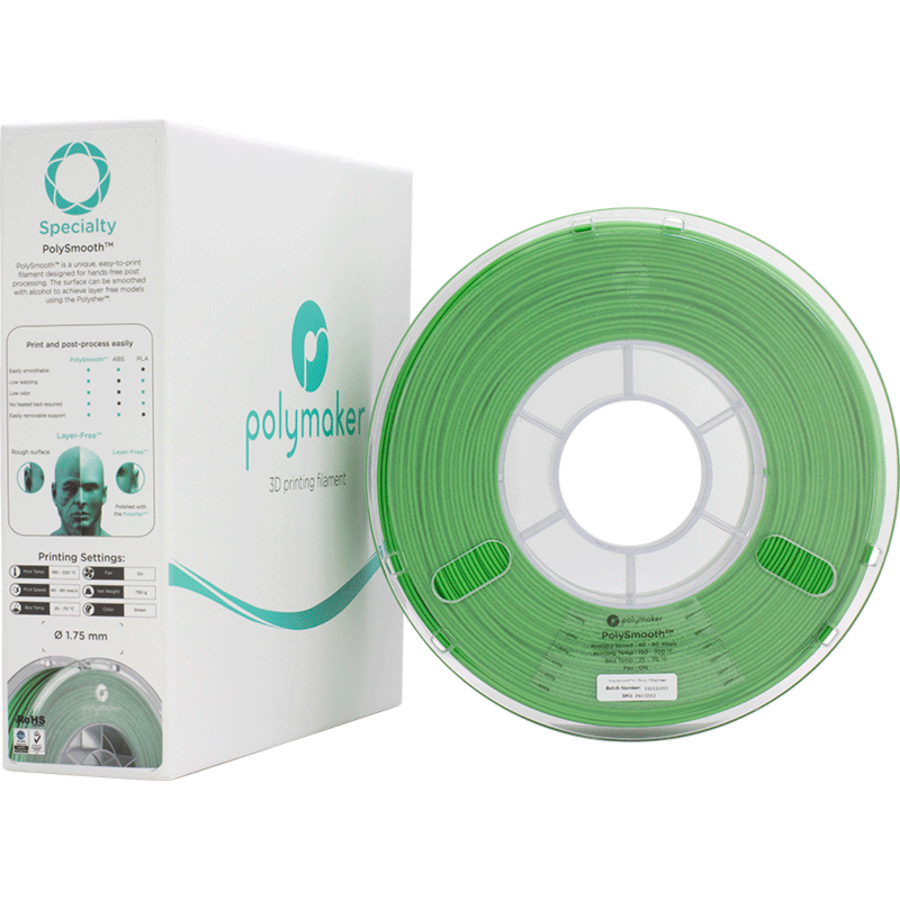 Polymaker Speciality PolySmooth - Groen-5