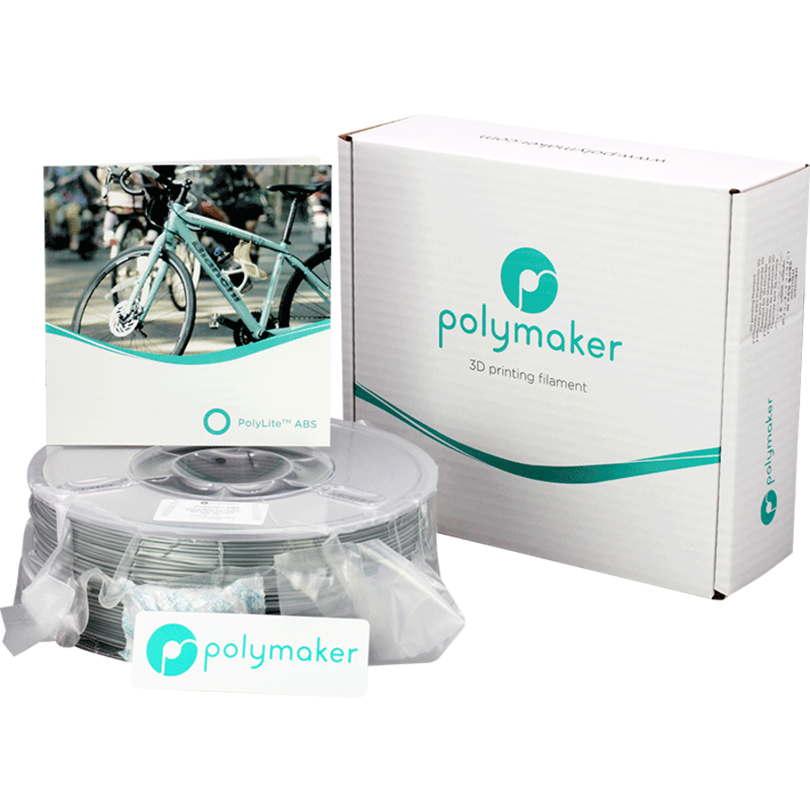 Polymaker PolyLite ABS - Grijs-4