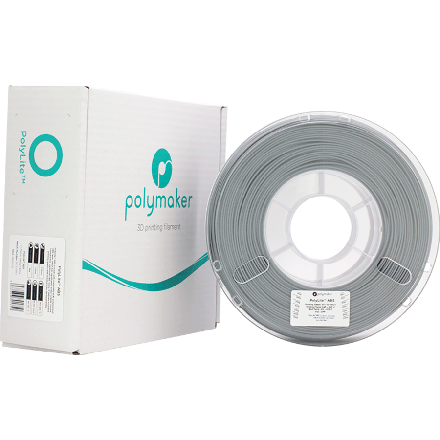 Polymaker PolyLite ABS - Grijs-5