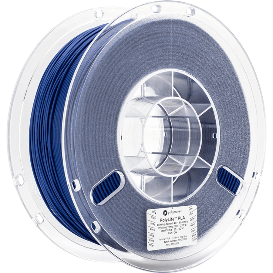 Polymaker PolyLite PLA - Blauw-1