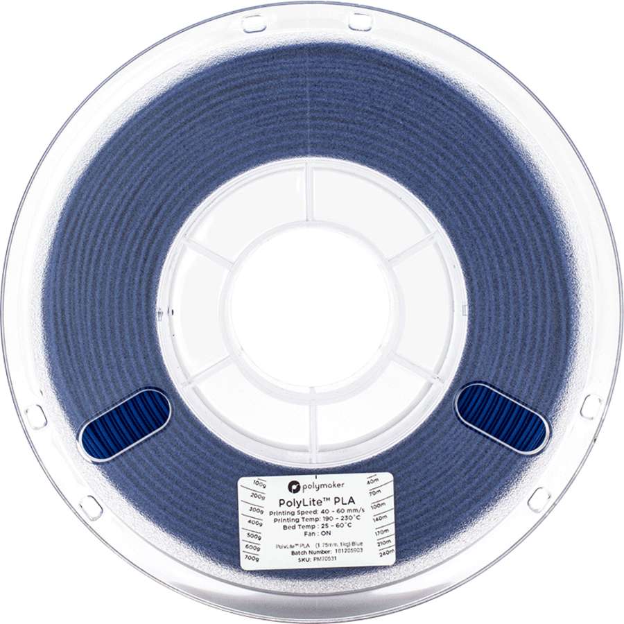 Polymaker PolyLite PLA - Blauw-2