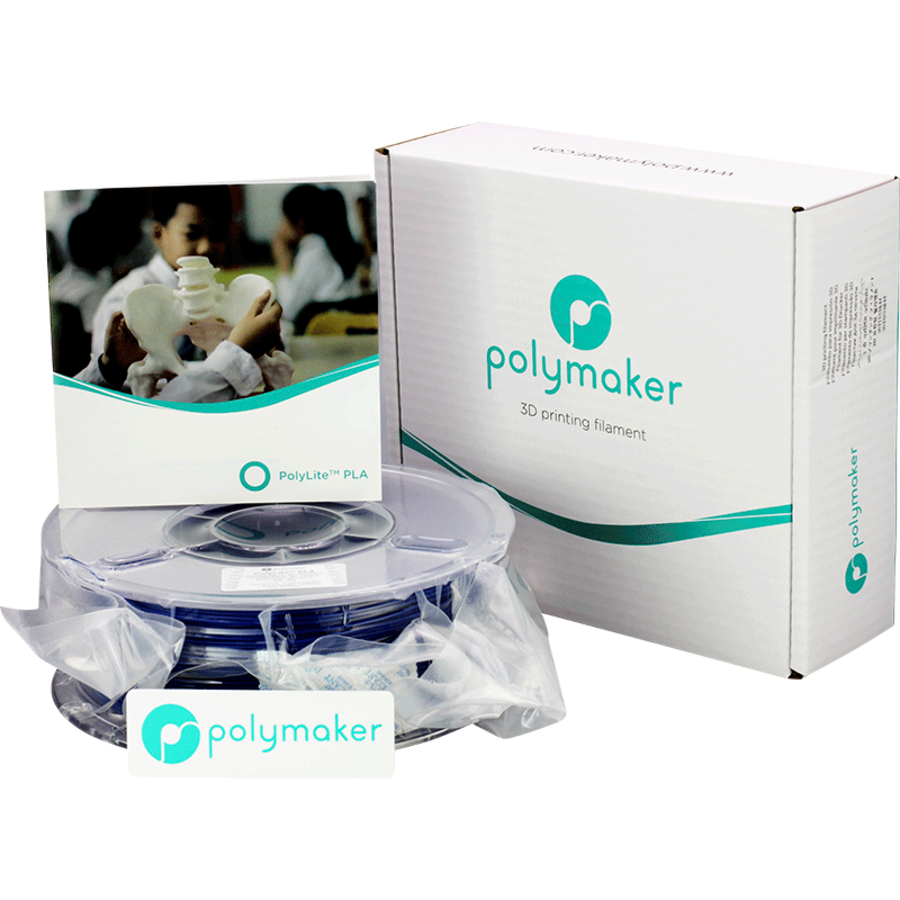 Polymaker PolyLite PLA - Blauw-4