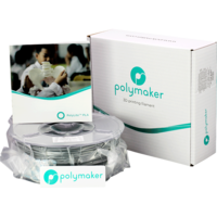 thumb-Polymaker PolyLite PLA - Grijs-4