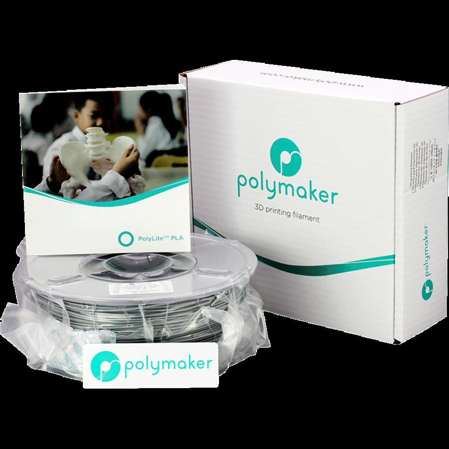 Polymaker PolyLite PLA - Grijs-4