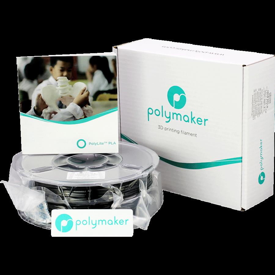 Polymaker PolyLite PLA - Zwart-4