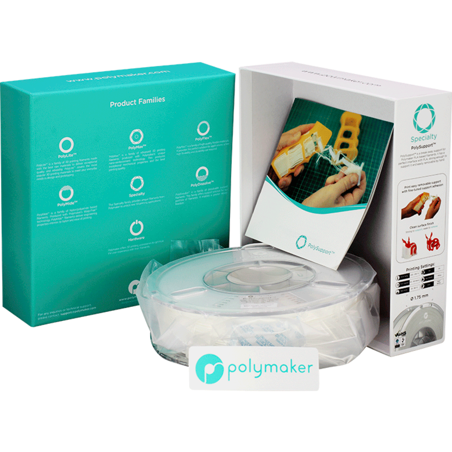 Polymaker Speciality PolySupport - Wit-5