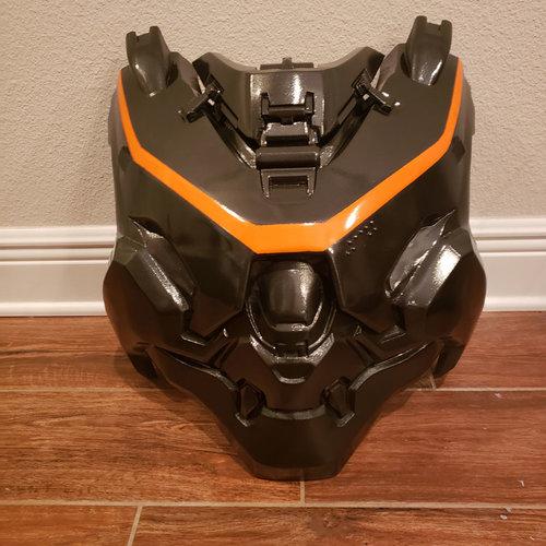 Hoe maak je een 3D Halo-Kostuum?