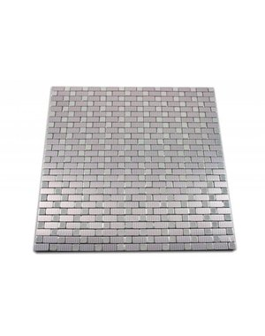 Luxury Tiles Self-adhesive mosaic tile silver