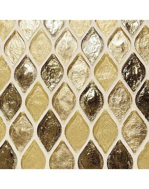 Dune Helsinki Gold Mosaic Glass