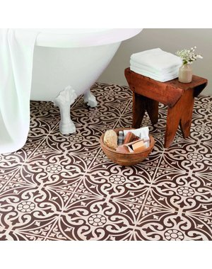 British Ceramic Tiles Devonstone Brown Feature Floor 331x331mm BCT11057