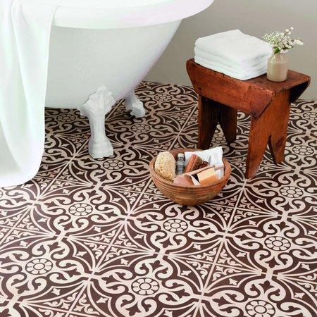 British Ceramic Tiles Devonstone Brown Feature Floor 331x331mm BCT11057