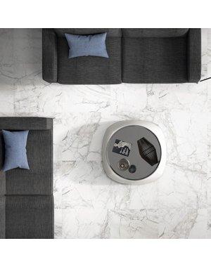 Brouille White Marble Effect 60x60 Matt Tiles