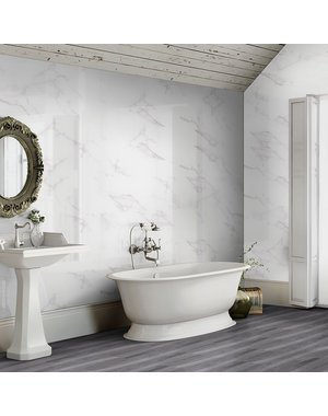 Luxury Tiles Calacatta Marble Effect 60x30 Gloss Tiles