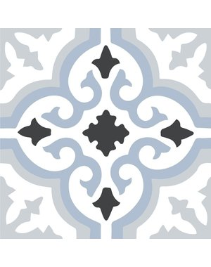 Kingsley Blue Pattern Tiles