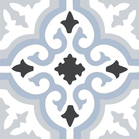 Kingsley Blue Pattern Tiles