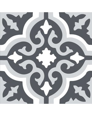 Kingsley Grey Pattern Tiles