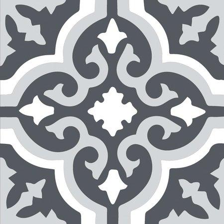 Kingsley Grey Pattern Tiles