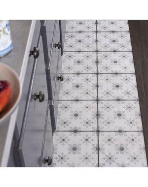 Luxury Tiles Classico Fleur Silver Pattern Tiles