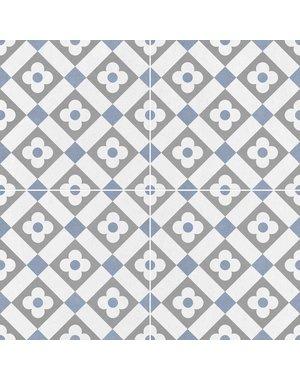 Luxury Tiles Classico Daisy Bloom Pattern Tiles