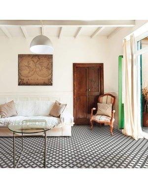 Bertie Encaustic Saltaire Pattern Tiles