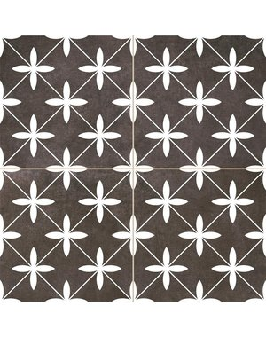 Luxury Tiles Oakham Black Pattern Tiles