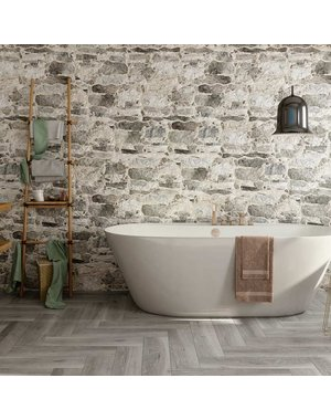 Parlor Linen Ash Wood Effect Tiles