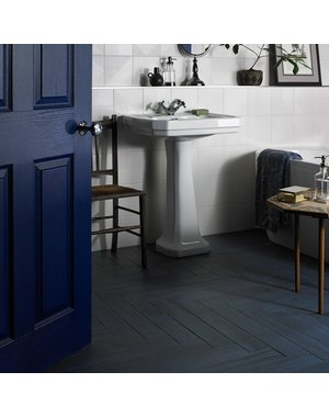 Luxury Tiles Bevel Blue Wood Effect Tiles floor and wall