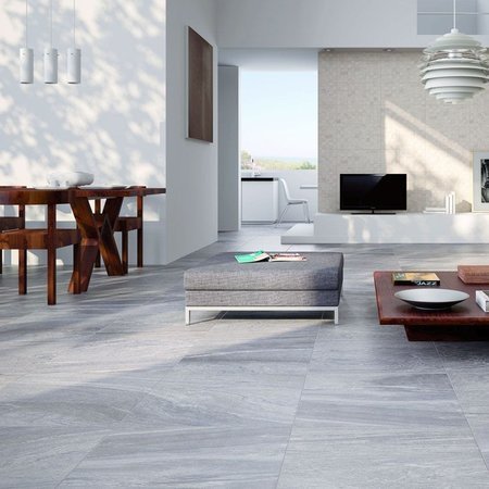 Dover Grey 450X450 Anti-Slip Floor Tiles