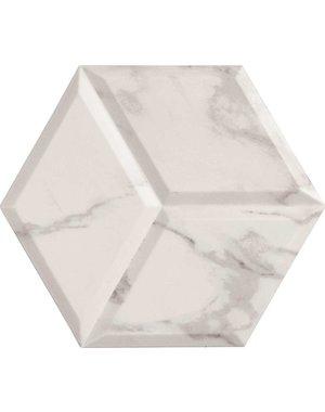 Luxury Tiles White  Hexagon Decor Tiles