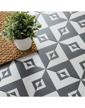 Vertex Feature Floor Tiles 20cm x 20cm