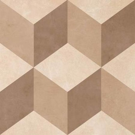 British Ceramic Tiles BCT28727 Feature Floor illusion Neutral Wall & Floor Tile