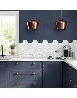 British Ceramic Tiles HD Laurel Hexagon Multiuse Tile