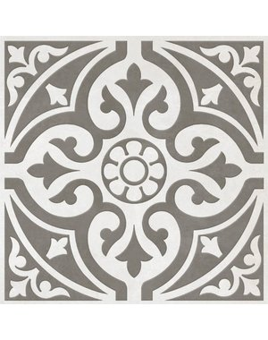Luxury Tiles Devonstone Grey Patterned Wall and Floor Tiles - 330 x 330mm