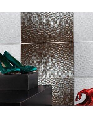 studio conran Studio Conran Hartland Metallic Mosaic Wall Tile