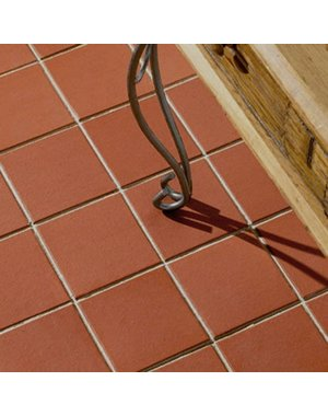 Earth Stone 150x150mm Rustic Red Quarry Tiles