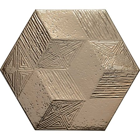 Luxury Tiles Allure Gold Hexagon Gloss Wall Tiles