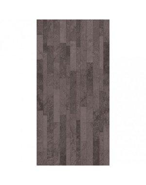 British Ceramic Tiles BCT HD Slate Splitface Black Wall Tiles 248mm X 498mm