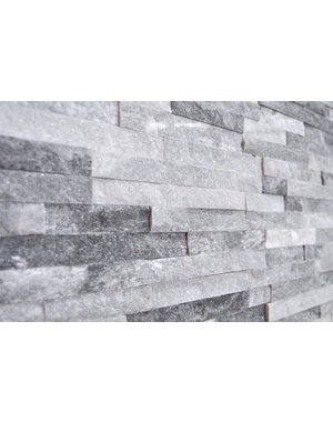 Luxury Tiles 10x36cm Cloud Grey Split Face tile