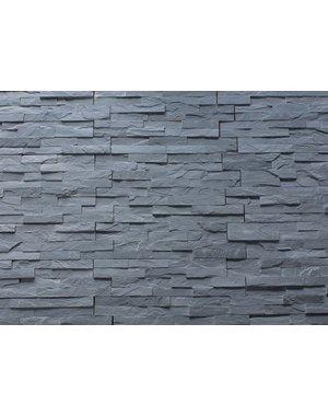 Jet Grey Split Face Tile