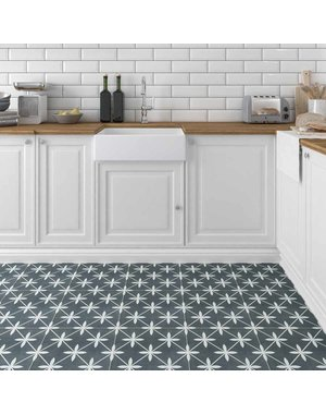 Laura Ashley Wicker Charcoal tiles